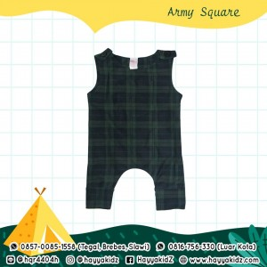BB 5.6 ARMY SQUARE JUMPSUIT BOBO