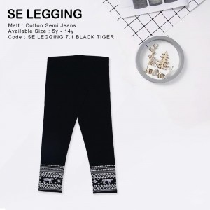 SE LEGGING 7.1 BLACK TIGER LEGGING ANAK