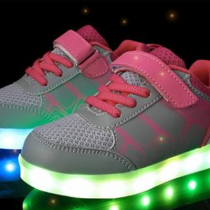 7 LIGHT BUNNY PINK SHOES BIG
