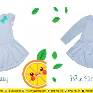 NB 3.1 BLUE STARRY DRESS ANAK NABILA