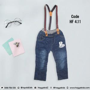 HF 4.11 R FASHION SUSPENDER PANTS