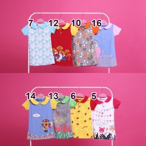 CB 2.12 RED PARTY DRESS ANAK COOL BEE