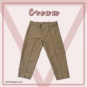 LONG CHINO CREAM
