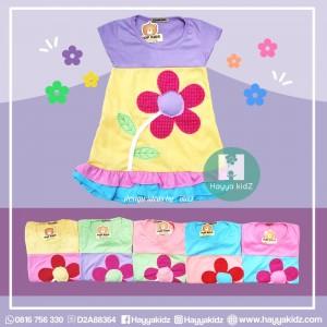 PK 11.2 FLOWER DRESS ANAK KECIL