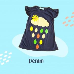 ARA 1.3 JUN DENIM ARASHI DRESS BY JUMPINC