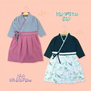 AIKO 1.6 KIDS GREY BUBBLEGUM AIKO GAMIS HANBOK KIDS