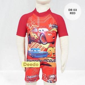 DD DB 03 RED BAJU RENANG DEEDO