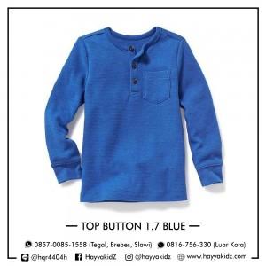 TOP BUTTON 1.7 BLUE ATASAN ANAK