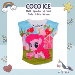 CC 6.21 WHITE UNICORN S-L KAOS ANAK COCO ICE