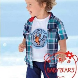 BABY BEARS 225 SET KM BLUE