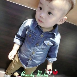 CANDY BABY 113 KEMEJA JEANS