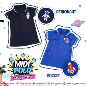 MP JUN ROCKET MIDI POLO DRESS