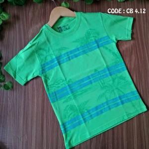 CB 4.12 GREEN COCONUT KAOS ANAK COOLBEE