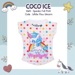 CC 6.19 WHITE FLOW UNICORN S-L KAOS ANAK COCO ICE