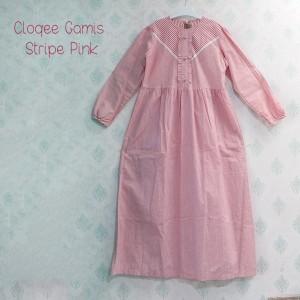 CLOQEE GAMIS STRIPE PINK XXXL