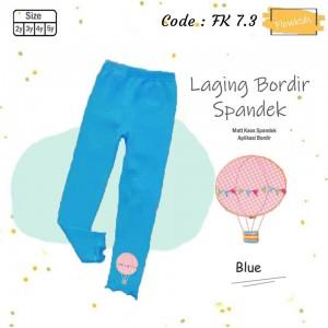 FK 7.3 BLUE AIR BALLOON LEGGING ANAK FLOWER KIDS