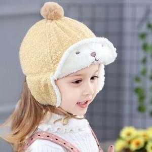 CHN 15.4 GLITTER BEAR HAT