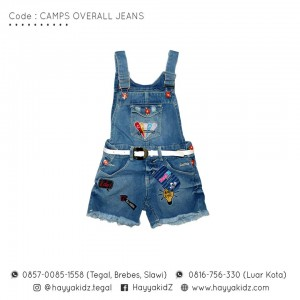 FL 2.3 CAMPS OVERALL JEANS 10-14 FEELIT