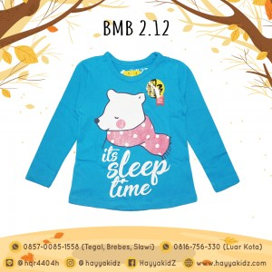 BMB 2.12 BLUE SLEEP KAOS ANAK BUMBLEBEE