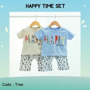 HAPPY 7.1 CAPPUCINO HAPPY TREE SETELAN ANAK HAPPY TIME