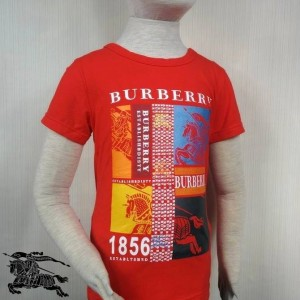 BURBERRY T-SHIRT A RED