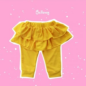 ALD 1.8 JUN YELLOWY ALODIA PANTS SKIRT