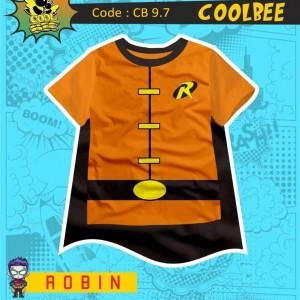 CB 9.7 ORANGE ROBIN KAOS ANAK COOL BEE