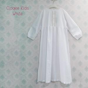 CLOQEE KIDS WHITE SZ XL