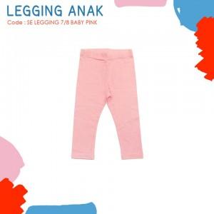 SE LEGGING 7/8 BABY PINK