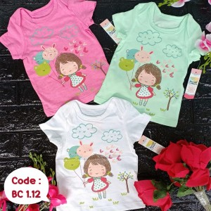 BC 1.12 CLOUD GIRL KAOS BABY CRANES