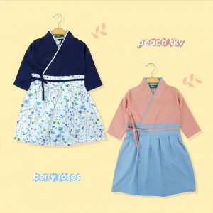 AIKO 1.3 JUN PEACH SKY AIKO GAMIS HANBOK JUNIOR