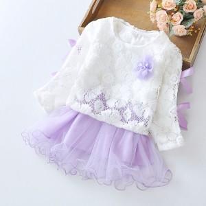 CHN 3.2 WHITE BRUKAT DRESS BABY