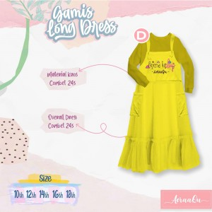 AER 2.4 D LIME-YELLOW GAMIS OVERALL AERAAQU