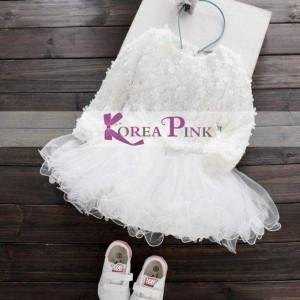 KP DRESS ROYAL WHITE