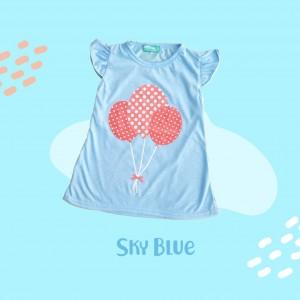 ARA 1.4 JUN SKY BLUE ARASHI DRESS BY JUMPINC