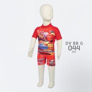DD DV BB G 044 RED CARS BAJU RENANG ANAK DEEDA