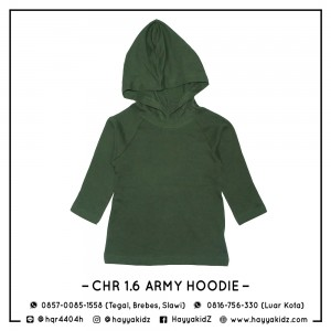 CHR 1.6 ARMY HOODIE CHEROKEE SHIRT
