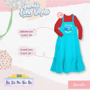 AER 2.3 C RED CHILI-BLUE GAMIS OVERALL AERAAQU