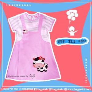 NKT 11.1 COW DRESS ANAK NIKITA