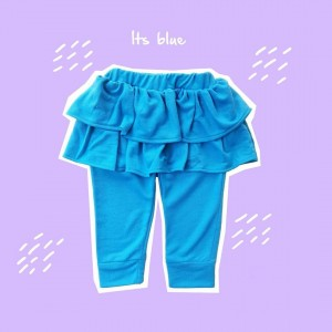 ALD 1.1 JUN ITS BLUE ALODIA PANTS SKIRT
