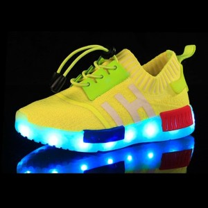 7 LIGHT HI YELLOW SHOES