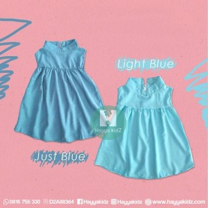SWING DRESS JUST BLUE