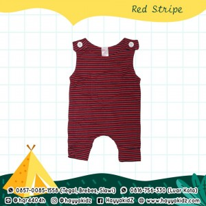 BB 5.9 RED STRIPE JUMPSUIT BOBO