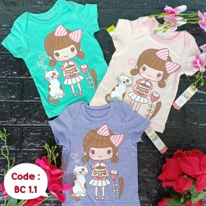 BC 1.1 GIRL CATTY KAOS BABY CRANES