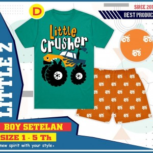 LITTLE Z D TOSCA CRUSHER SETELAN ANAK