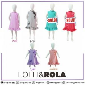 LR 1.4 LYLAC TWISCONE DRESS PESTA ANAK LOLLI ROLA