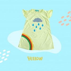 ARA 1.1 JUN YELLOW ARASHI DRESS BY JUMPINC