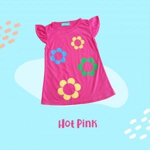 ARA 1.2 JUN HOT PINK ARASHI DRESS BY JUMPINC