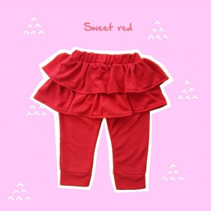 ALD 1.6 SWEET RED ALODIA PANTS SKIRT
