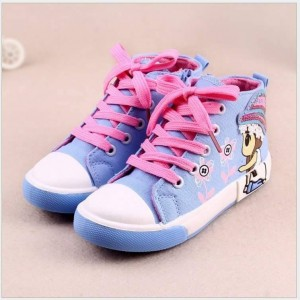 AB - CUTE GIRLS BLUE SHOES BIG